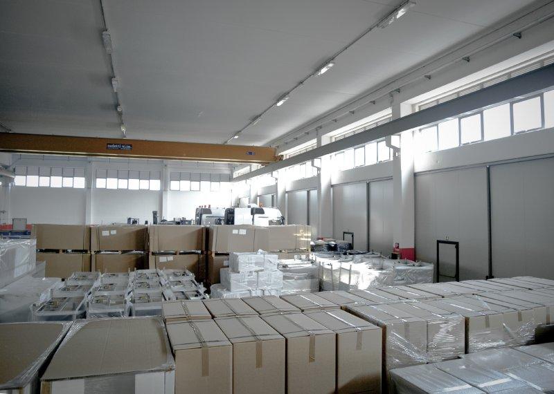Deposito merci della Ferri System