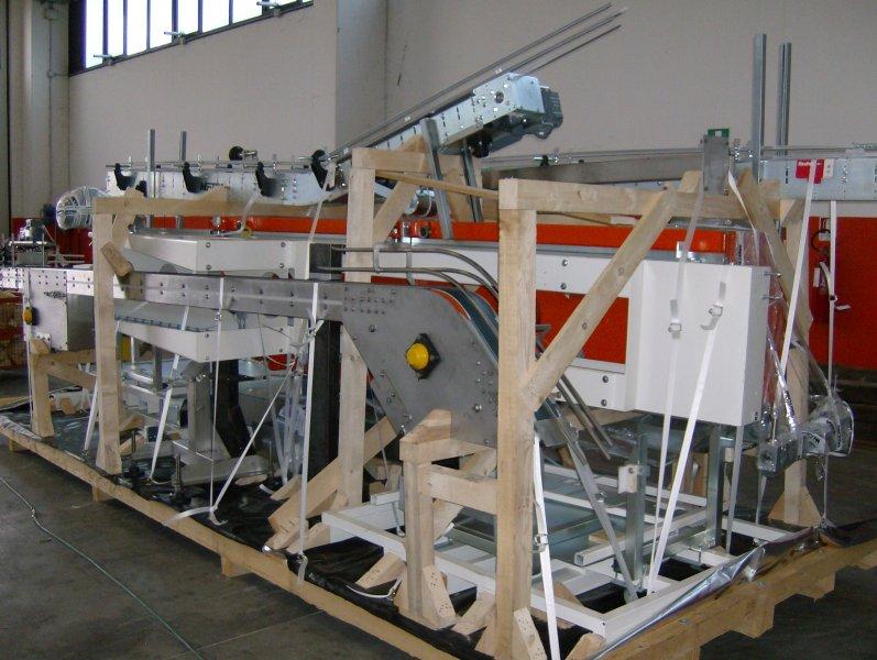 Imballaggio carichi speciali Ferri System