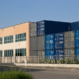 Container in deposito