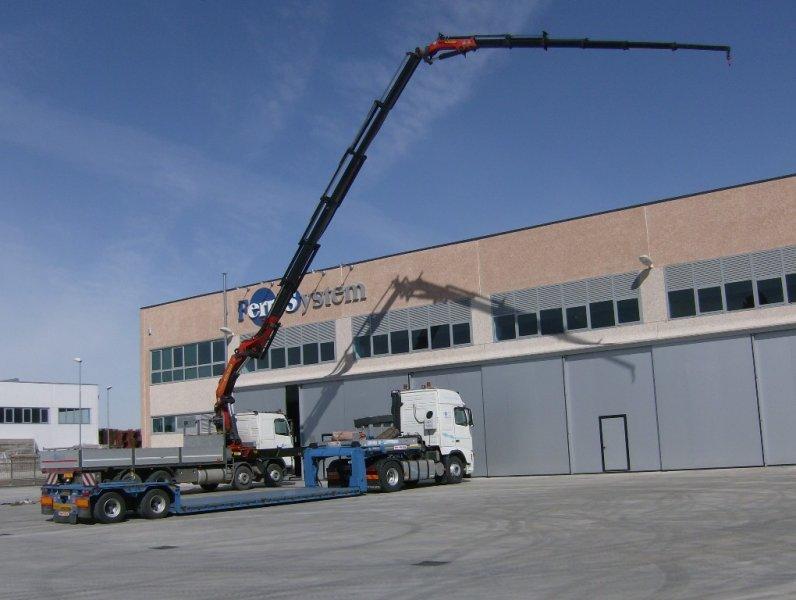 Camion per servizio gru della Ferri System