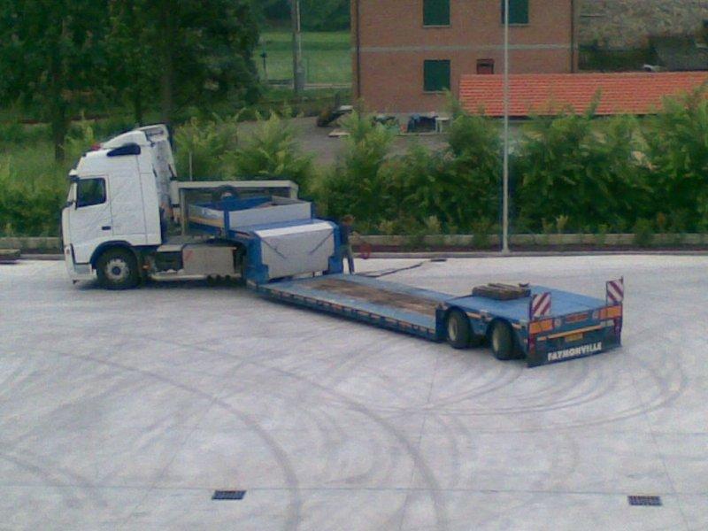 Manovra per il trasporto speciale