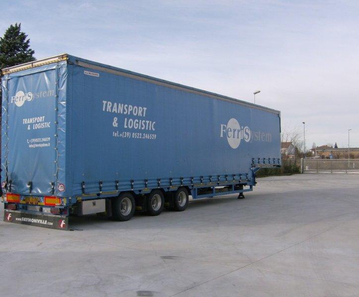 Uno dei camion Ferri System