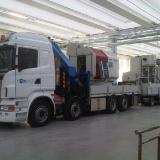 Fase di trasporto impianti industriali
