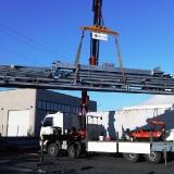Sollevamento e trasporto materiale edile