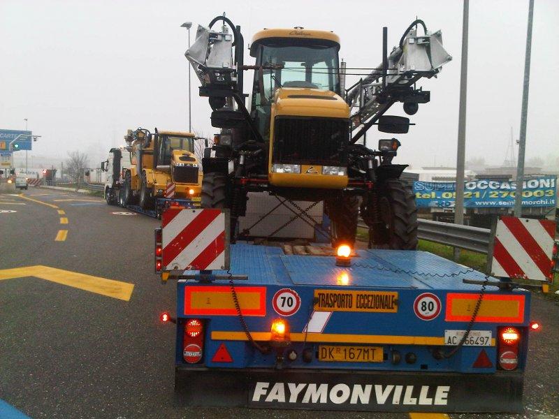 Trasporto speciale macchinari agricoli Ferri System