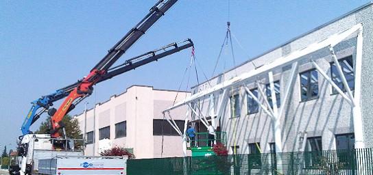 Ferri System truck crane service